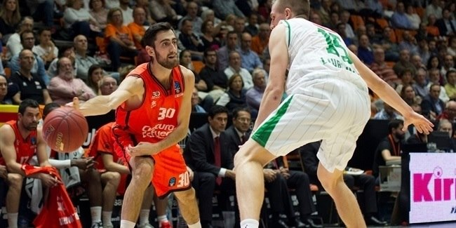 Regular Season, Round 4: Valencia Basket vs. Union Olimpija Ljubljana