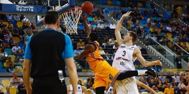 Regular Season, Round 4: Gran Canaria vs. Lietkabelis Panevezys