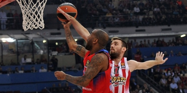 Regular Season, Round 5: Olympiacos Piraeus vs. CSKA Moscow