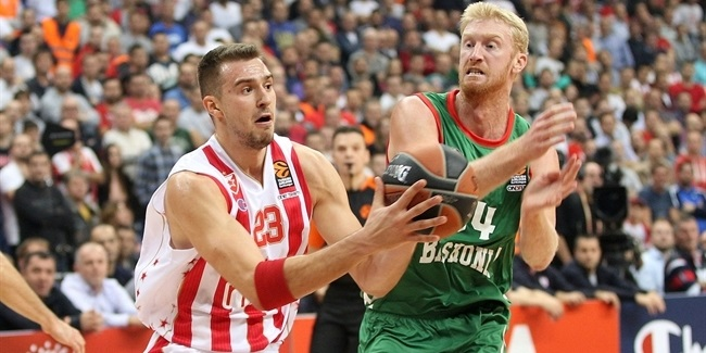 Regular Season, Round 5: Crvena Zvezda mts Belgrade vs. Baskonia Vitoria Gasteiz