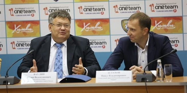 Khimki launches new season's One Team programme