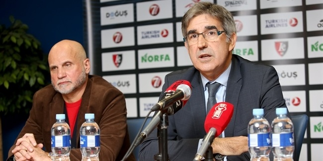 Euroleague Basketball's Bertomeu meets media in Vilnius