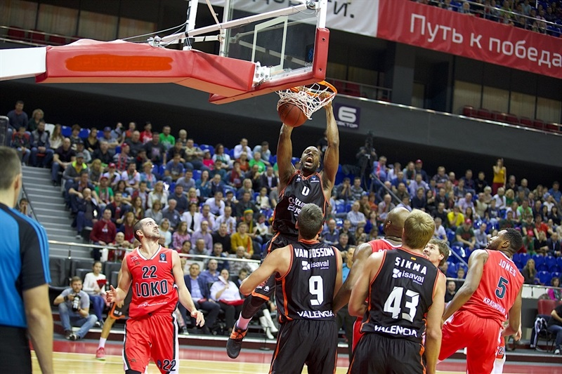 Will Thomas - Valencia Basket - EC16 (photo Lokomotiv)