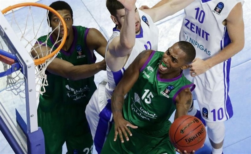 Jamar Smith - Unicaja Malaga - EC16 (photo Unicaja)