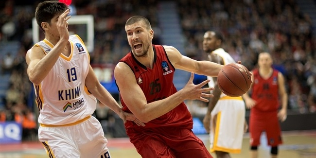 Regular Season, Round 5: REATBet Bilbao Basket vs. Khimki Moscow Region