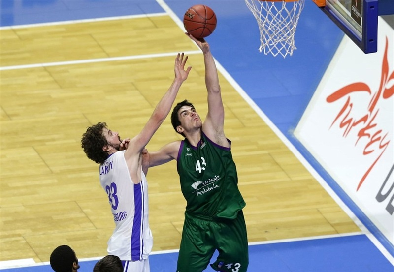 Carlos Suarez - Unicaja Malaga - EC16 (photo Unicaja)