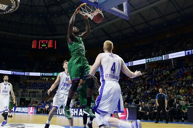 Viny Okouo - Unicaja Malaga - EC16 (photo Unicaja)