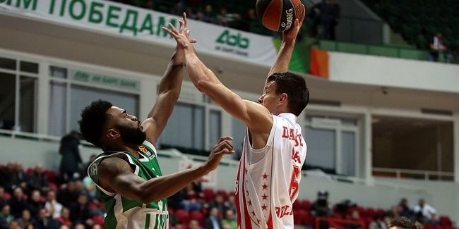 Regular Season, Round 6: Unics Kazan vs. Crvena Zvezda mts Belgrade