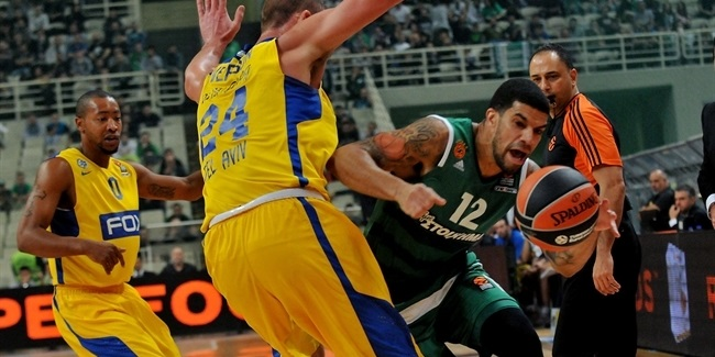 Regular Season, Round 6: Panathinaikos Superfoods Athens vs. Maccabi FOX Tel Aviv