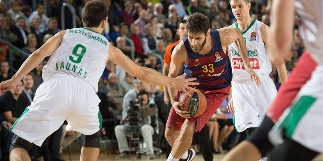 Regular Season, Round 6: FC Barcelona Lassa vs. Zalgiris Kaunas