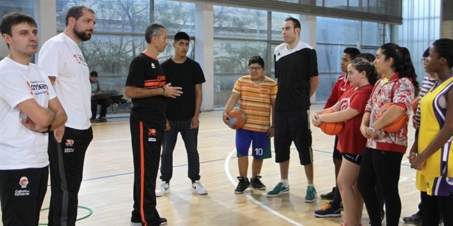 Valencia Basket launches new One Team project