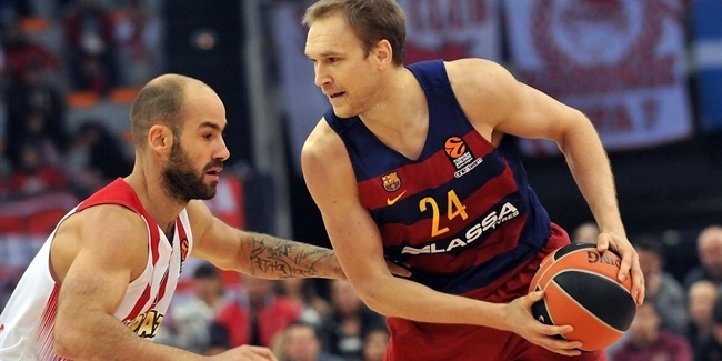 Regular Season, Round 7: Olympiacos Piraeus vs. FC Barcelona Lassa