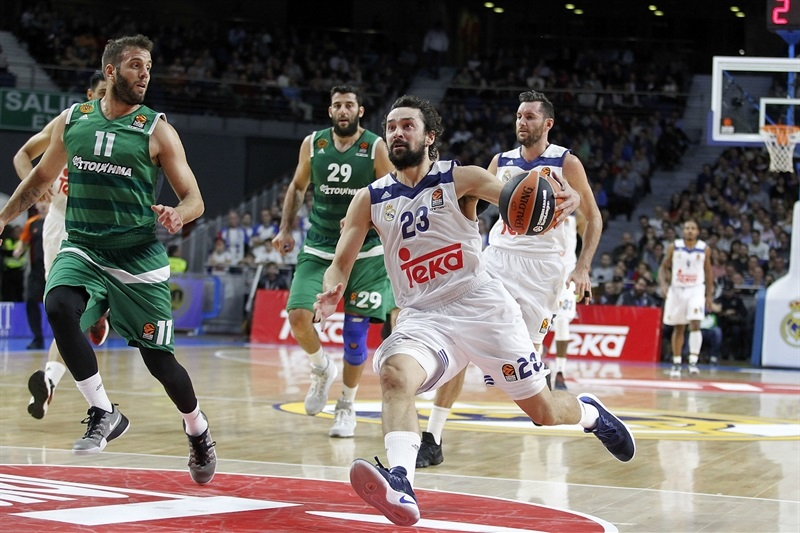 0d64a6c59f2 Nick Calathes - Panathinaikos Superfoods Athens. Sergio Llull - Real Madrid  - EB16