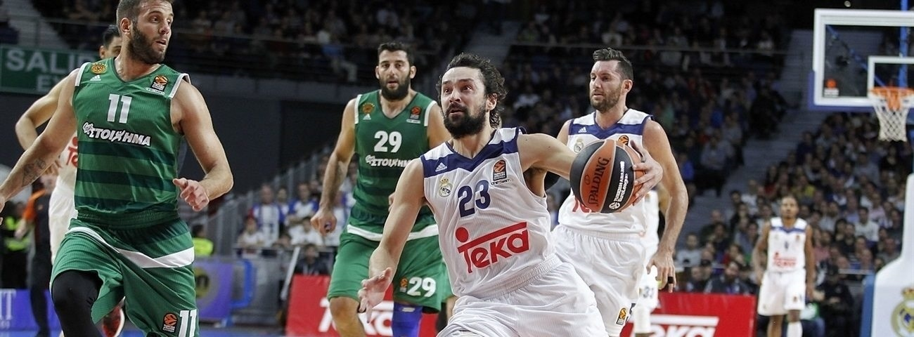 Regular Season Round 7 MVP: Sergio Llull, Real Madrid