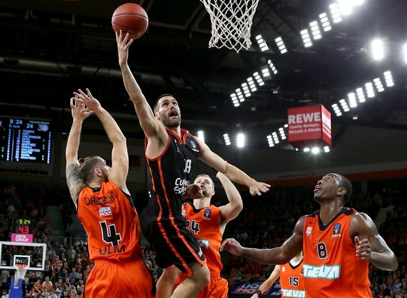 Ratiopharm ulm vs valencia basket game welcome to for Butlers ulm