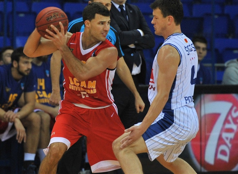 Billy Baron - UCAM Murcia - EC16 (photo Murcia)