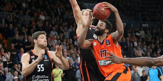 Regular Season, Round 6: ratiopharm Ulm vs. Valencia Basket