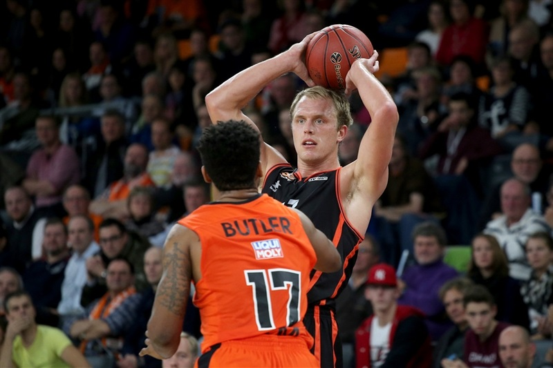 Luke Sikma - Valencia Basket - EC16 (photo Florian Achberger - Ratiopharm Ulm)