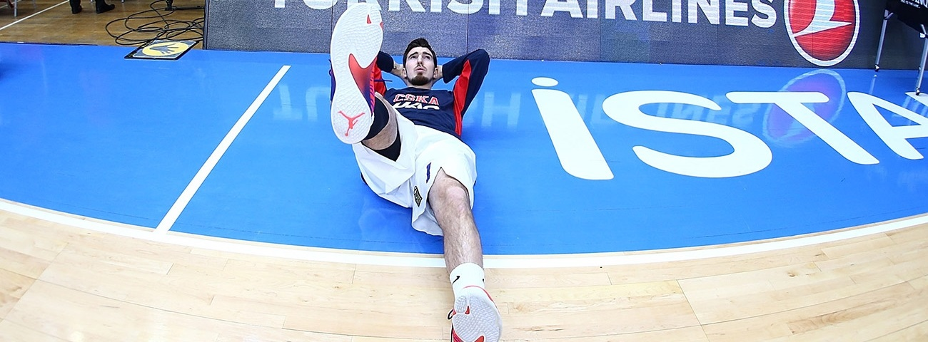 "CSKA's De Colo sidelined for ""several games"" with injury"