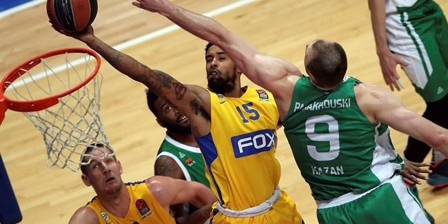 Regular Season, Round 8: Unics Kazan vs. Maccabi FOX Tel Aviv