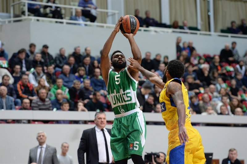 Keith Langford - Unics Kazan (photo Unics)