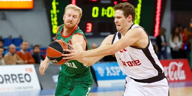 Regular Season, Round 8: Baskonia Vitoria Gasteiz vs. Brose Bamberg
