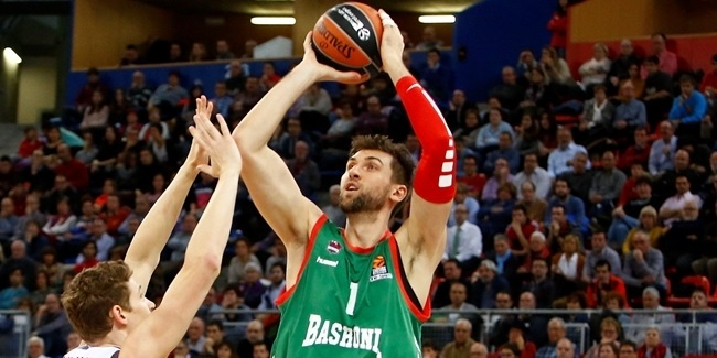 Baskonia's Bargnani to miss next two weeks