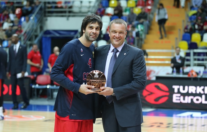 Milos Teodosic - October 2016 MVP - EB16