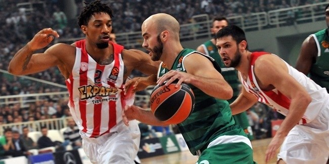 Regular Season, Round 8: Panathinaikos Superfoods Athens vs. Olympiacos Piraeus