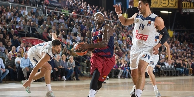 Regular Season, Round 8: FC Barcelona Lassa vs. Real Madrid