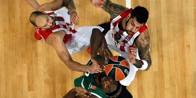 RS Round 8 report: Olympiacos takes Greek derby thriller, 77-79, from Panathinaikos!