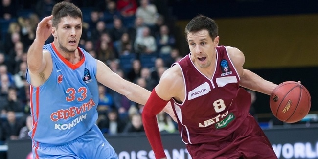 Regular Season, Round 7: Lietkabelis Panevezys vs. Cedevita Zagreb