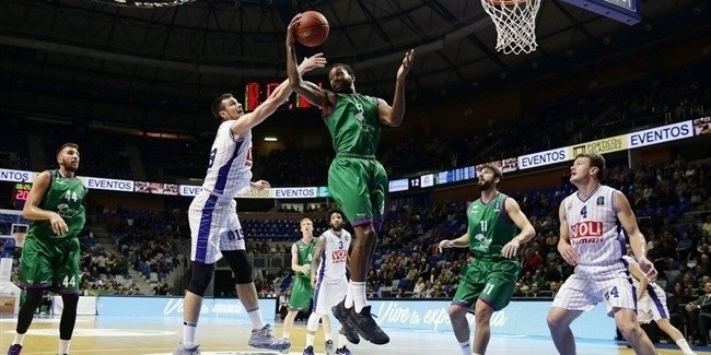 Regular Season, Round 7 report: Unicaja easies over Buducnost and into Top 16