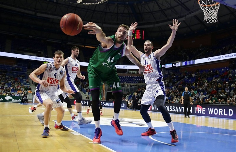 Dejan Musli - Unicaja Malaga - EC16 (photo Unicaja)
