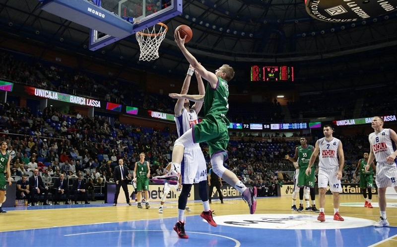 Adam Waczynski - Unicaja Malaga - EC16 (photo Unicaja)