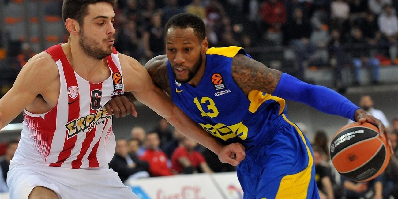 RS Round 9 report: Maccabi FOX Tel Aviv claims road victory in Piraeus