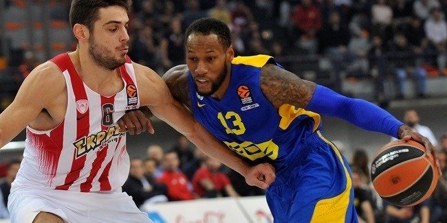 Regular Season, Round 9: Olympiacos Piraeus vs. Maccabi FOX Tel Aviv