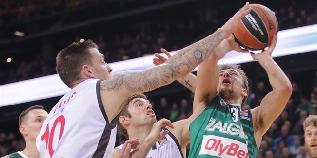 RS Round 9 report: Zalgiris Kaunas rolls past visiting Brose Bamberg