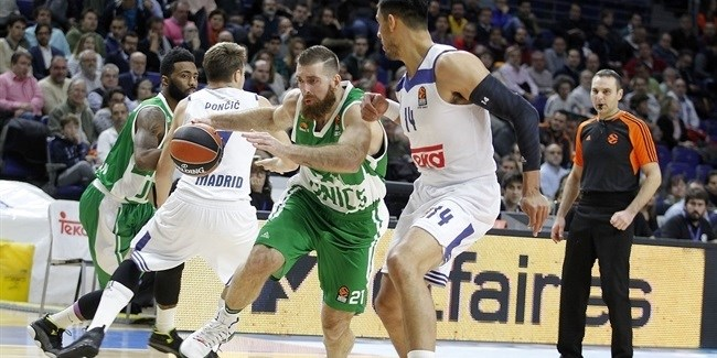 Regular Season, Round 9: Real Madrid vs. Unics Kazan