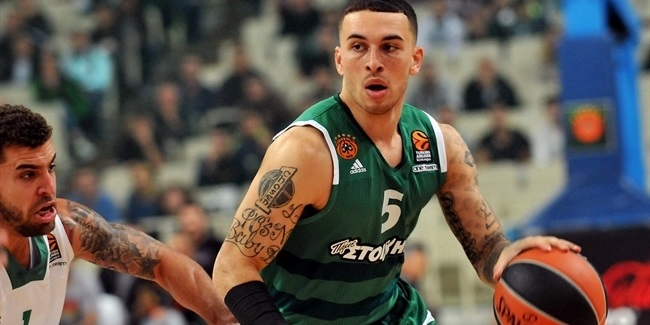 Regular Season, Round 9: Panathinaikos Superfoods Athens vs. Darussafaka Dogus Istanbul