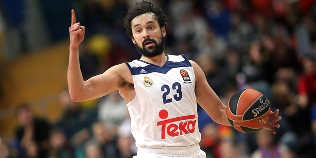 Turkish Airlines EuroLeague MVP for November: Sergio Llull, Real Madrid