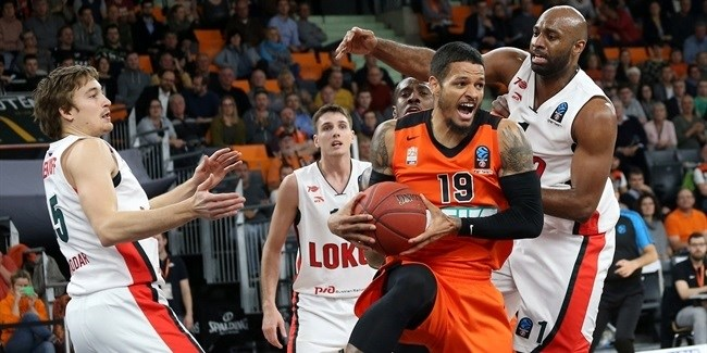 Regular Season, Round 8: ratiopharm Ulm vs. Lokomotiv Kuban Krasnodar