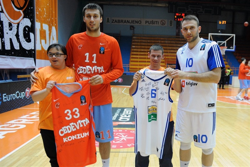 One Team Week - Karlo Zganec - Cedevita Zagreb - EC16 (photo Cedevita)