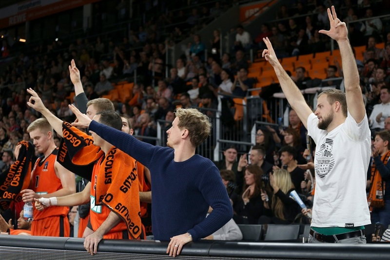 ratiopharm Ulm celebrates - EC16 (photo Florian Achberger - Ratiopharm Ulm)