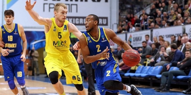 Regular Season, Round 8: Khimki Moscow Region vs. ALBA Berlin