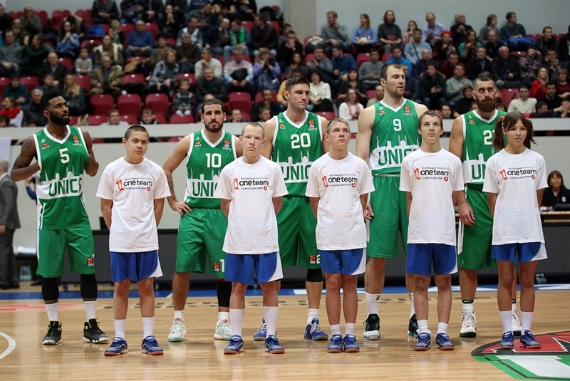 One Team Week - players Unics Kazan - EB16