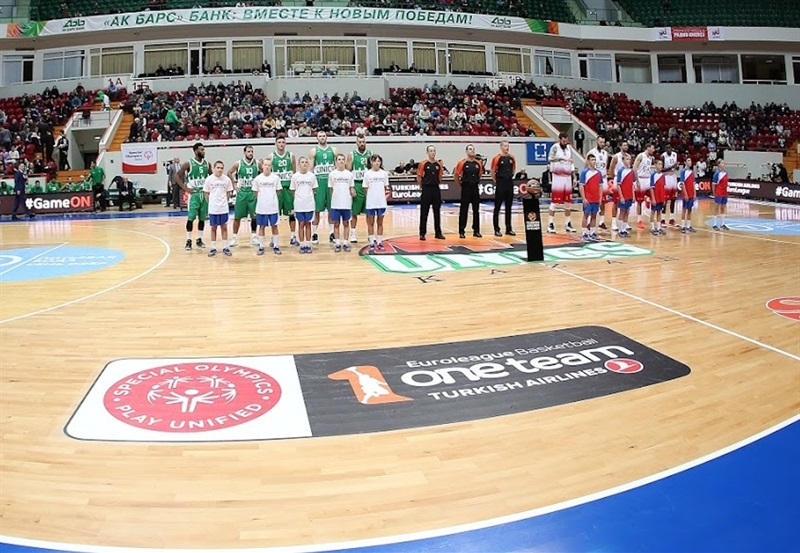 One Team Week - Unics Kazan vs. EA7 Emporio Armani Milan - EB16