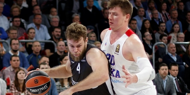Regular Season, Round 10: Brose Bamberg vs. CSKA Moscow
