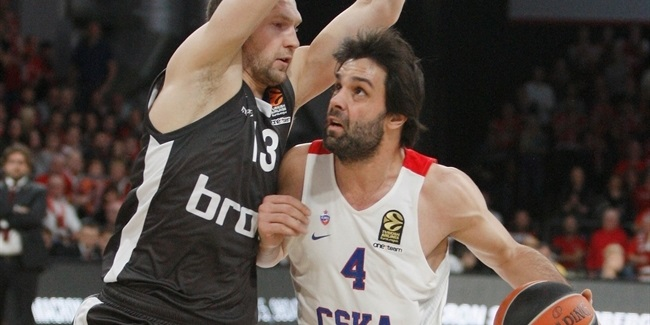 Regular Season Round 10: CSKA tops Bamberg in Fridzon's jumper at the buzzer