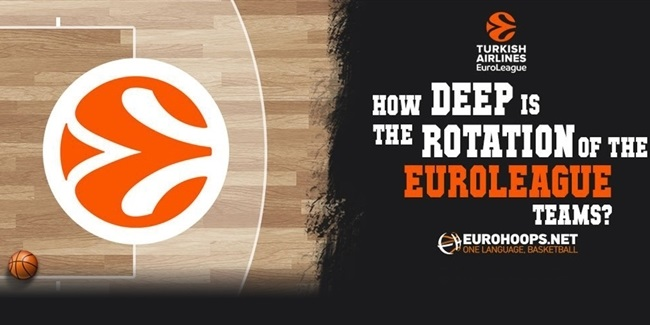 Trademarks by Eurohoops.net: Playing times and team depth